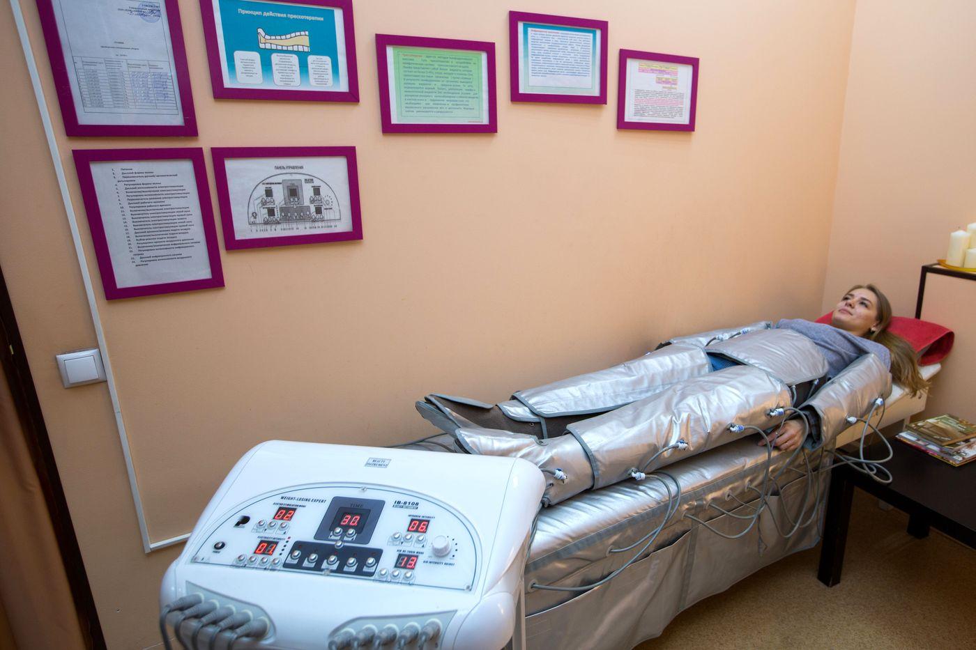 Прессотерапия в Омске